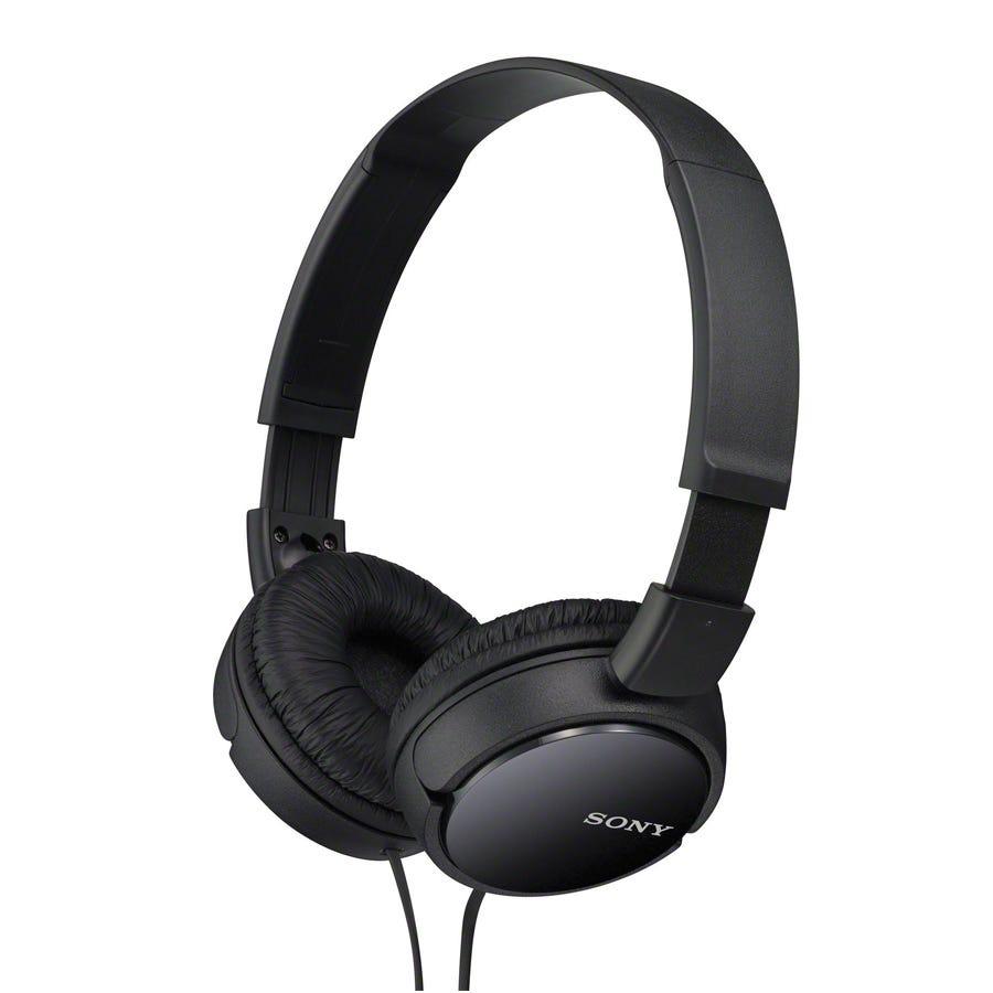 Sony MDR-ZX110AP Headphones- Black