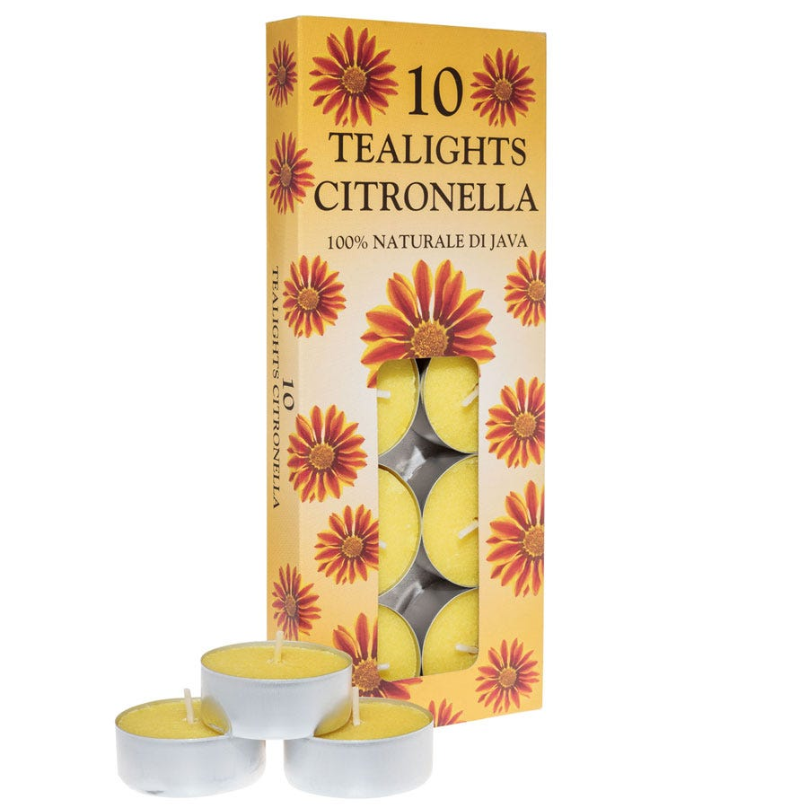 Price's Candles Price's Citronella Tealights - 10 Pack