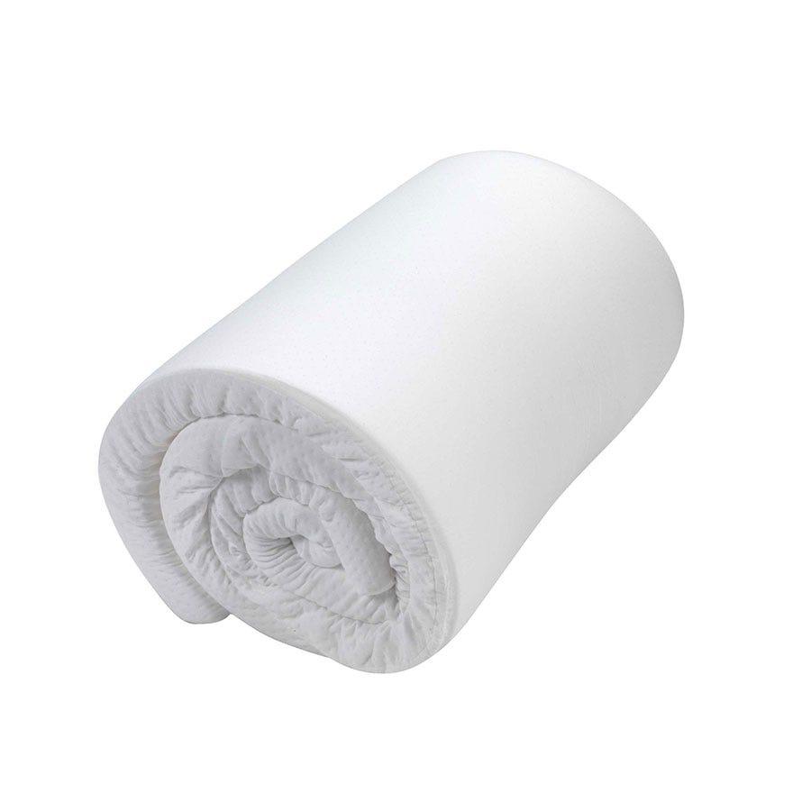 Homedics Climate Control Coolmax Memory Foam King Size Mattress Topper - White