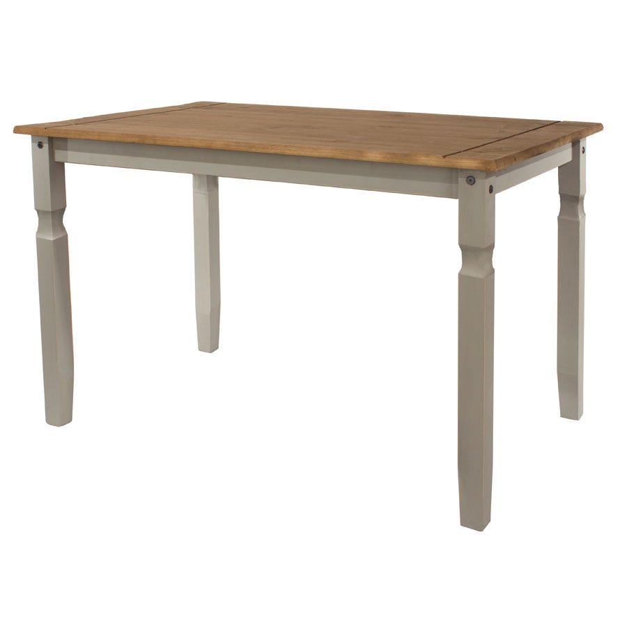 Halea Rectangular Medium Dining Table - Grey
