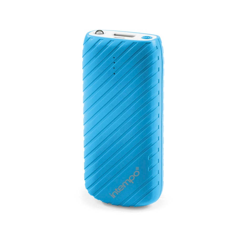 Image of Intempo 4000mah Power Bank - Blue