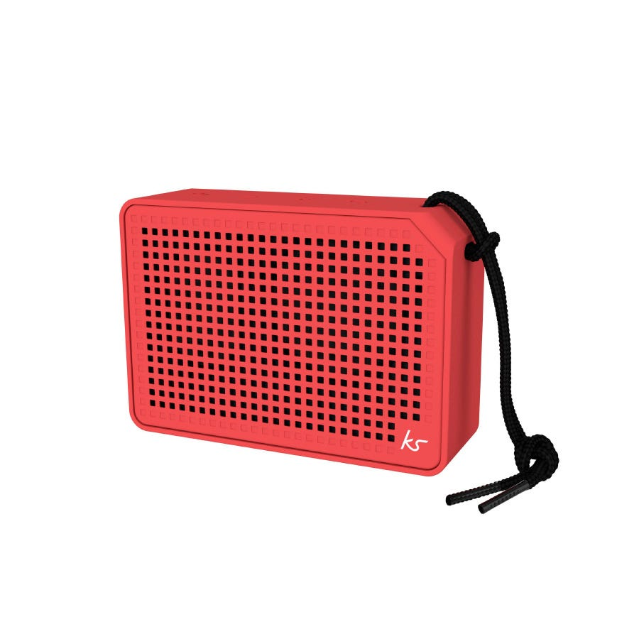 Kitsound Boxi Speaker - Red