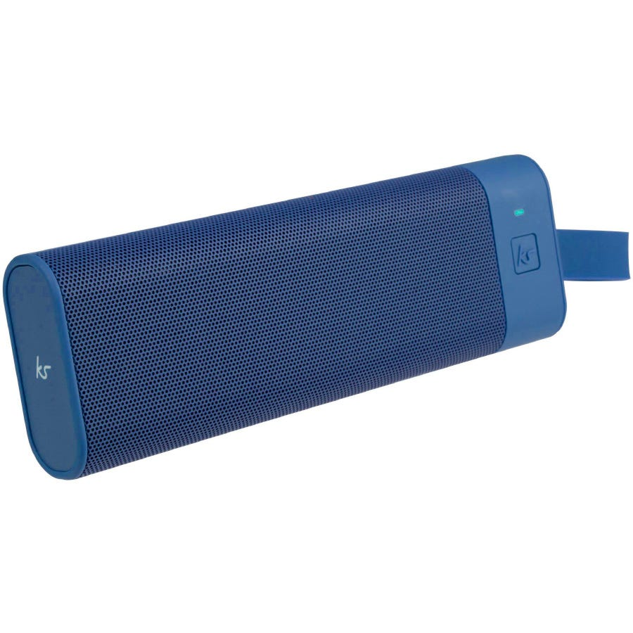 Kitsound BoomBar+ Portable Wireless Speaker - Navy