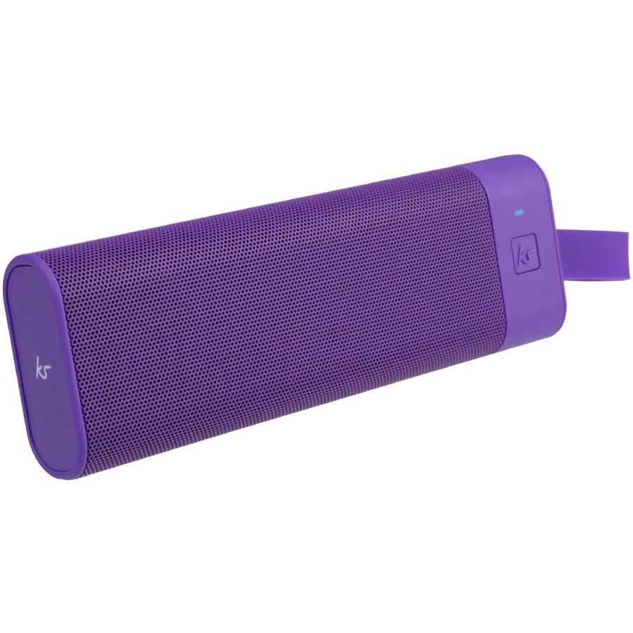Kitsound BoomBar+ Portable Wireless Speaker - Purple