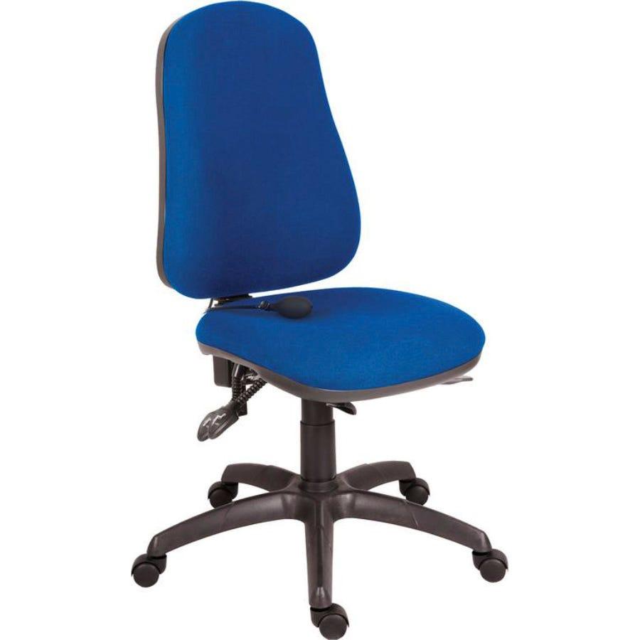 TEKNIK Ergo Comfort Air Tilting Operator Chair - Black, Blue