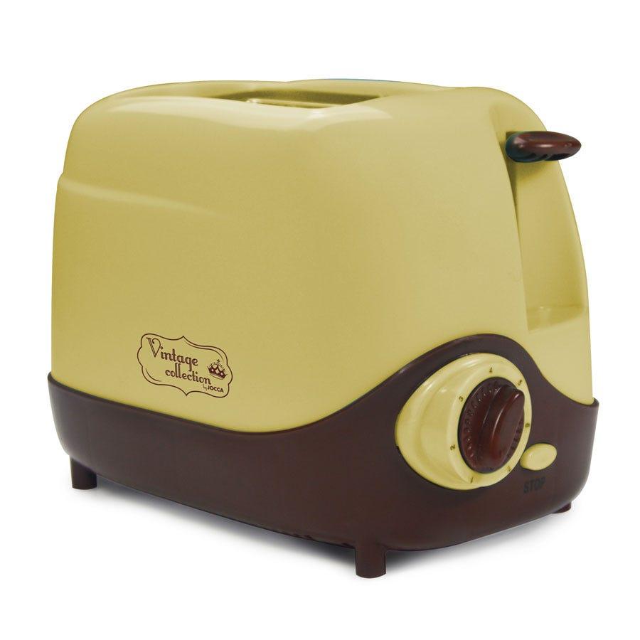 Jocca 5070CU Vintage Style Toaster with 7 Settings - Cream