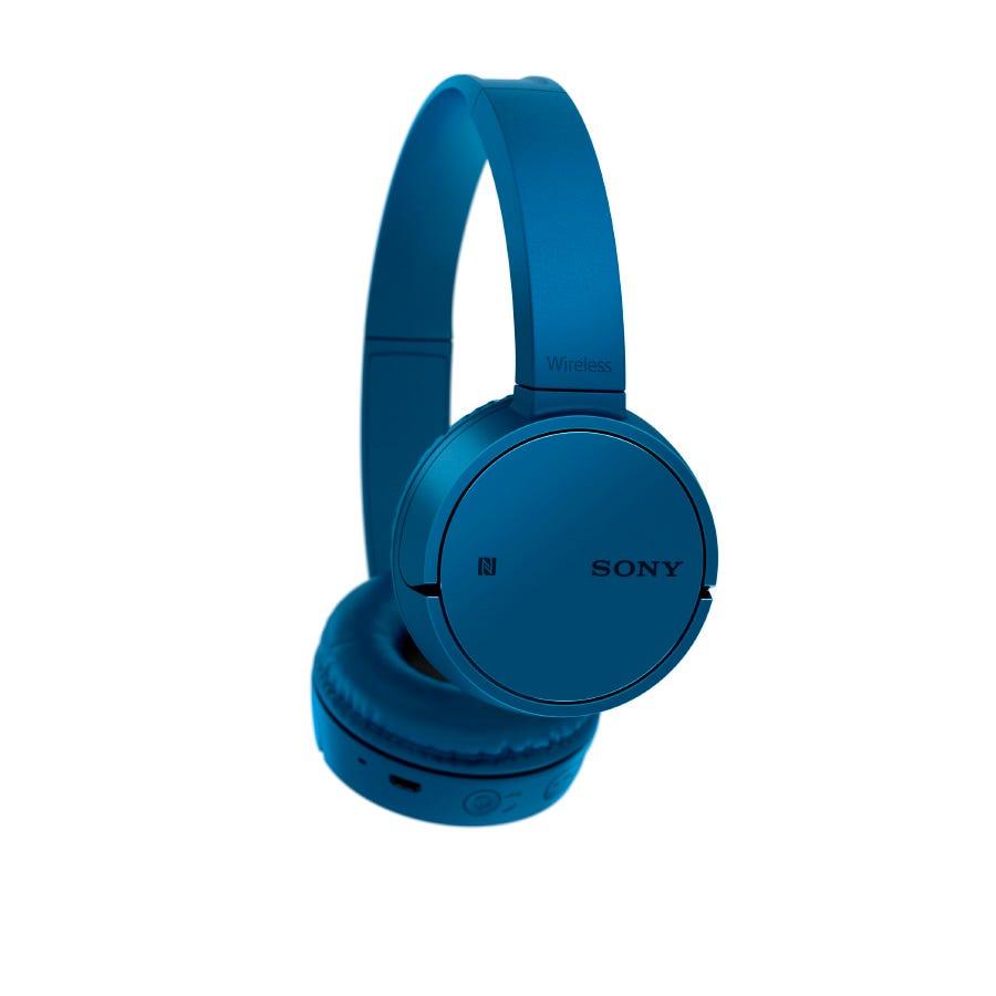Sony Bluetooth Headphones - Blue