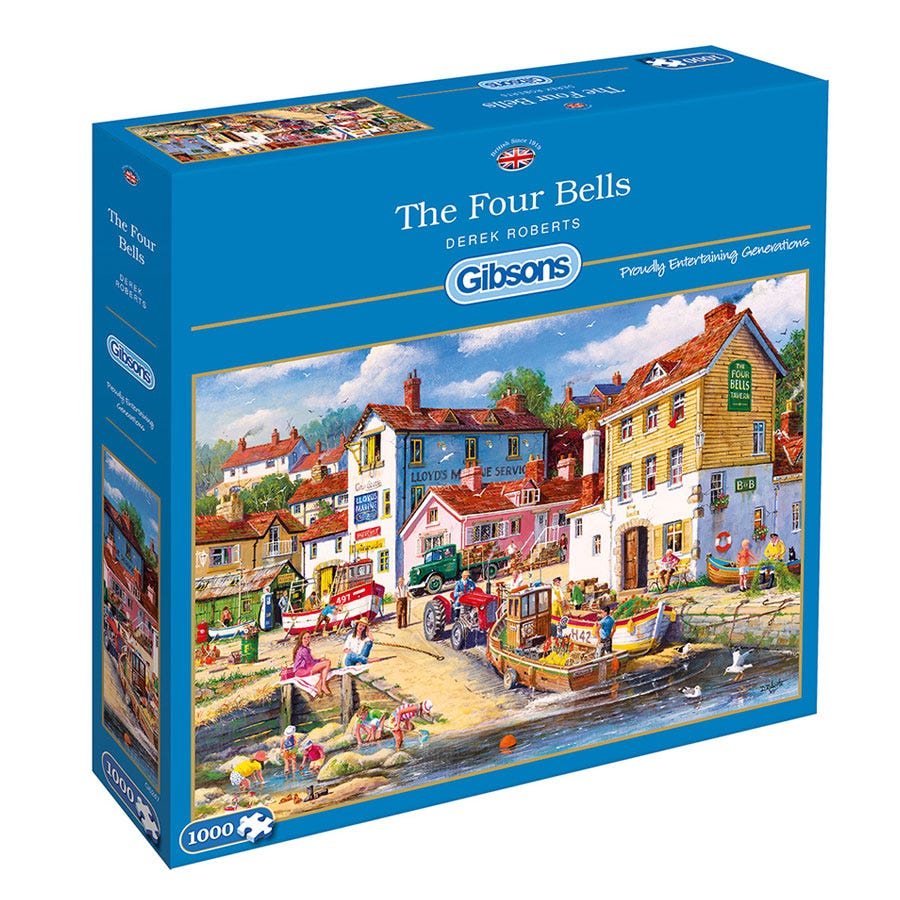 Gibsons The Four Bells 1000 Piece Jigsaw Puzzle
