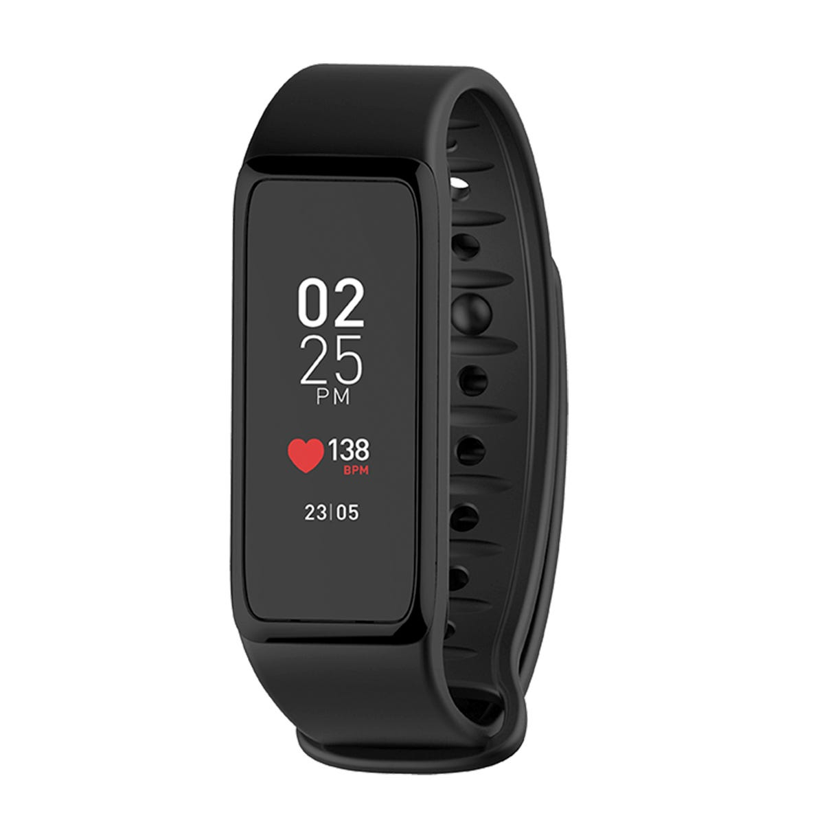 MyKronoz ZeFit 3 HR Fitness Tracker with Heart Rate Monitor - Black