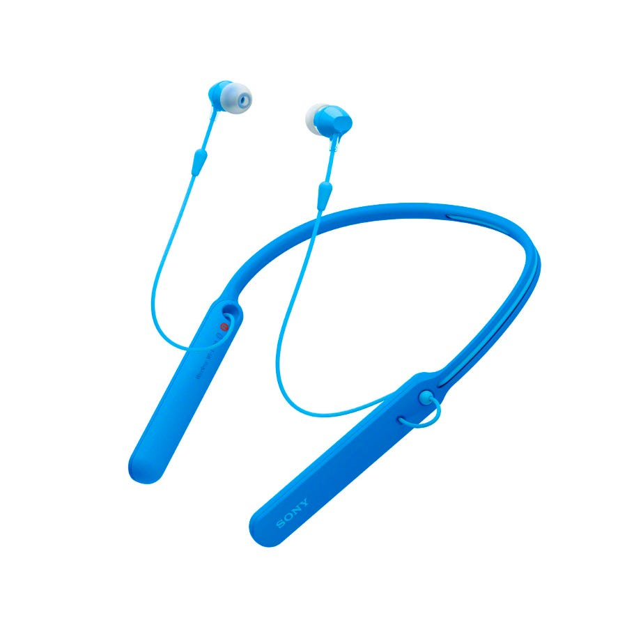Sony Wireless Headphones - Blue