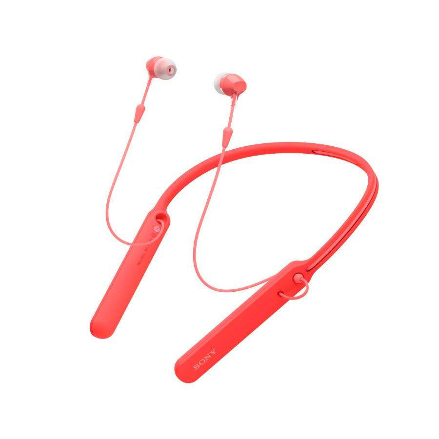 Sony Wireless Headphones - Red
