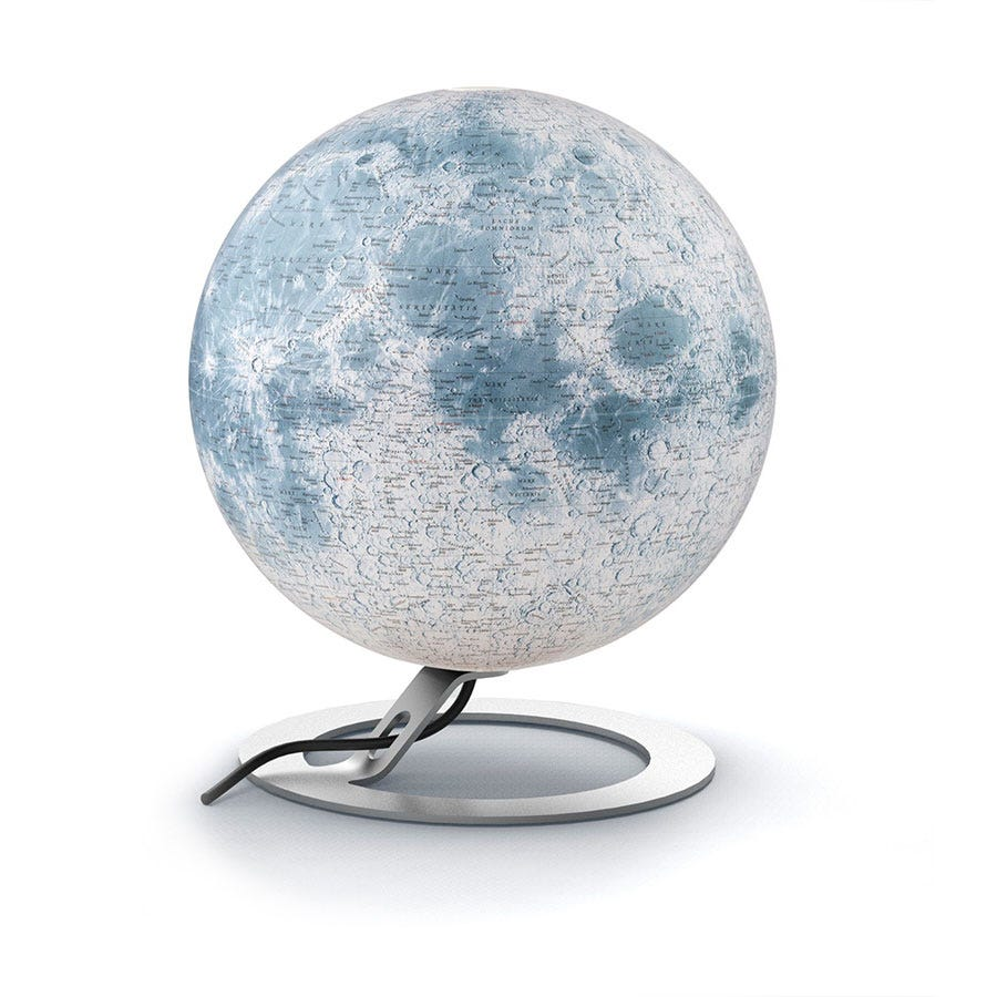 Robert Dyas National Geographic 30cm The Moon Illuminated Globe