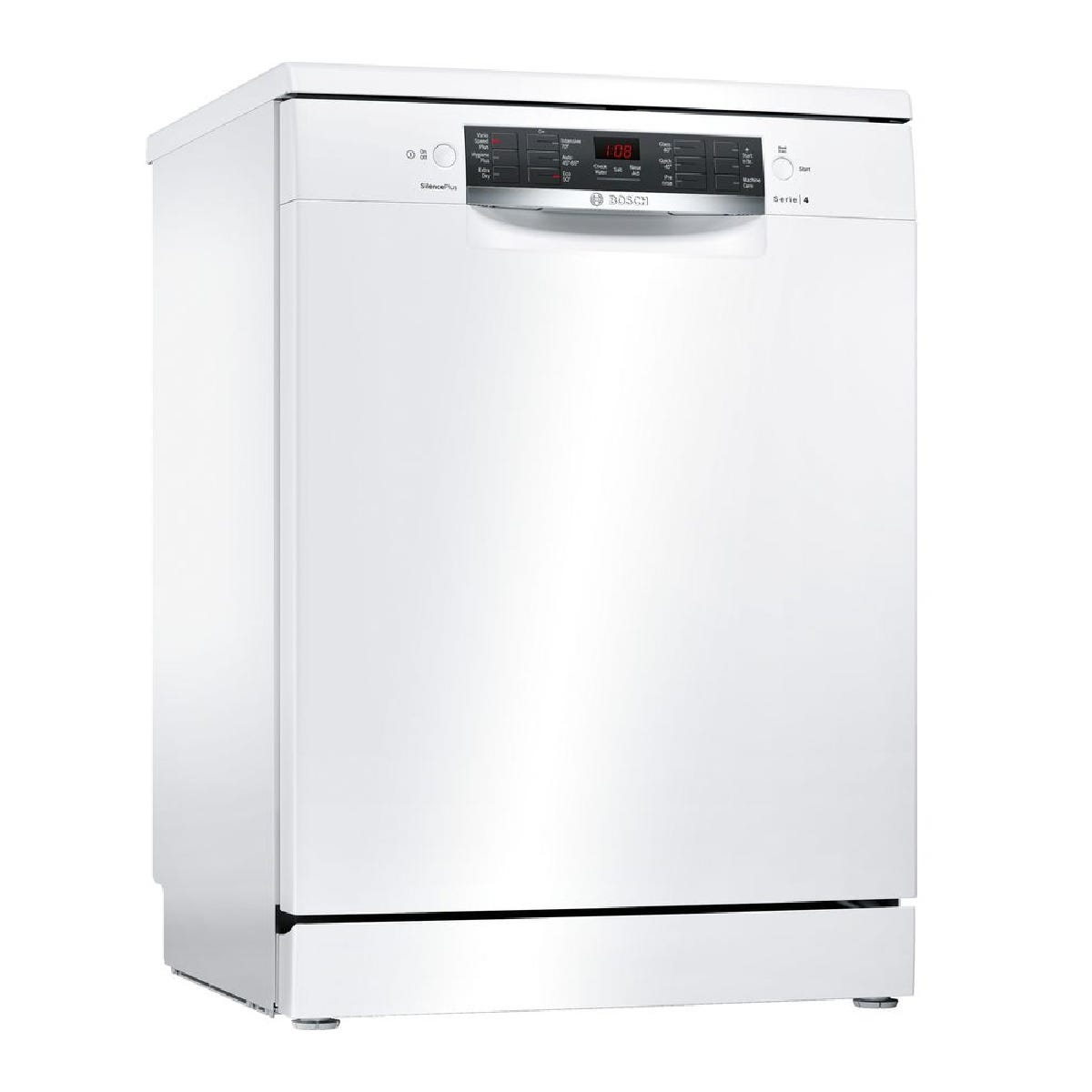 Bosch Serie 4 SMS46IW04G 13 Settings Full Size Dishwasher with ActiveWater Technology - White