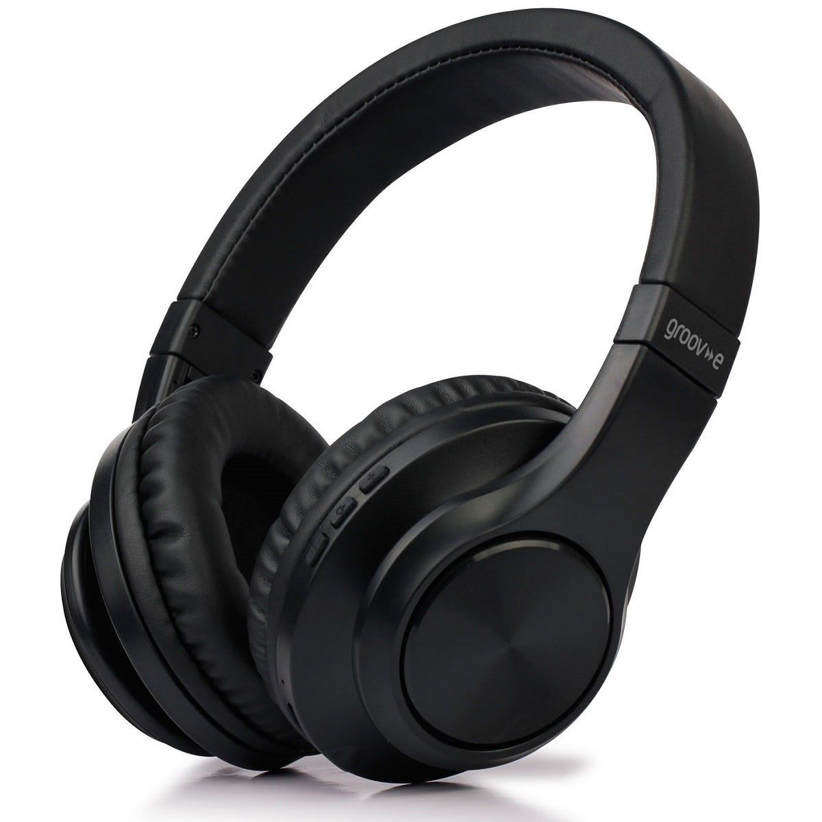 Groov-e Rhythm Wireless Bluetooth Headphones - Black