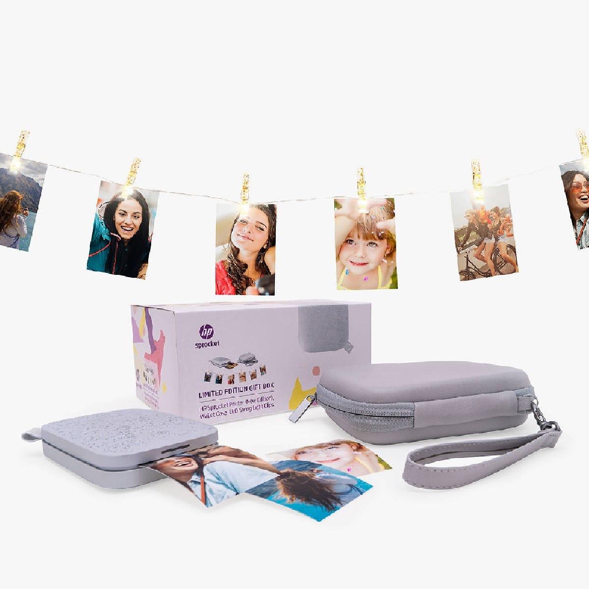 HP Sprocket 200 Portable Photo Printer Gift Box