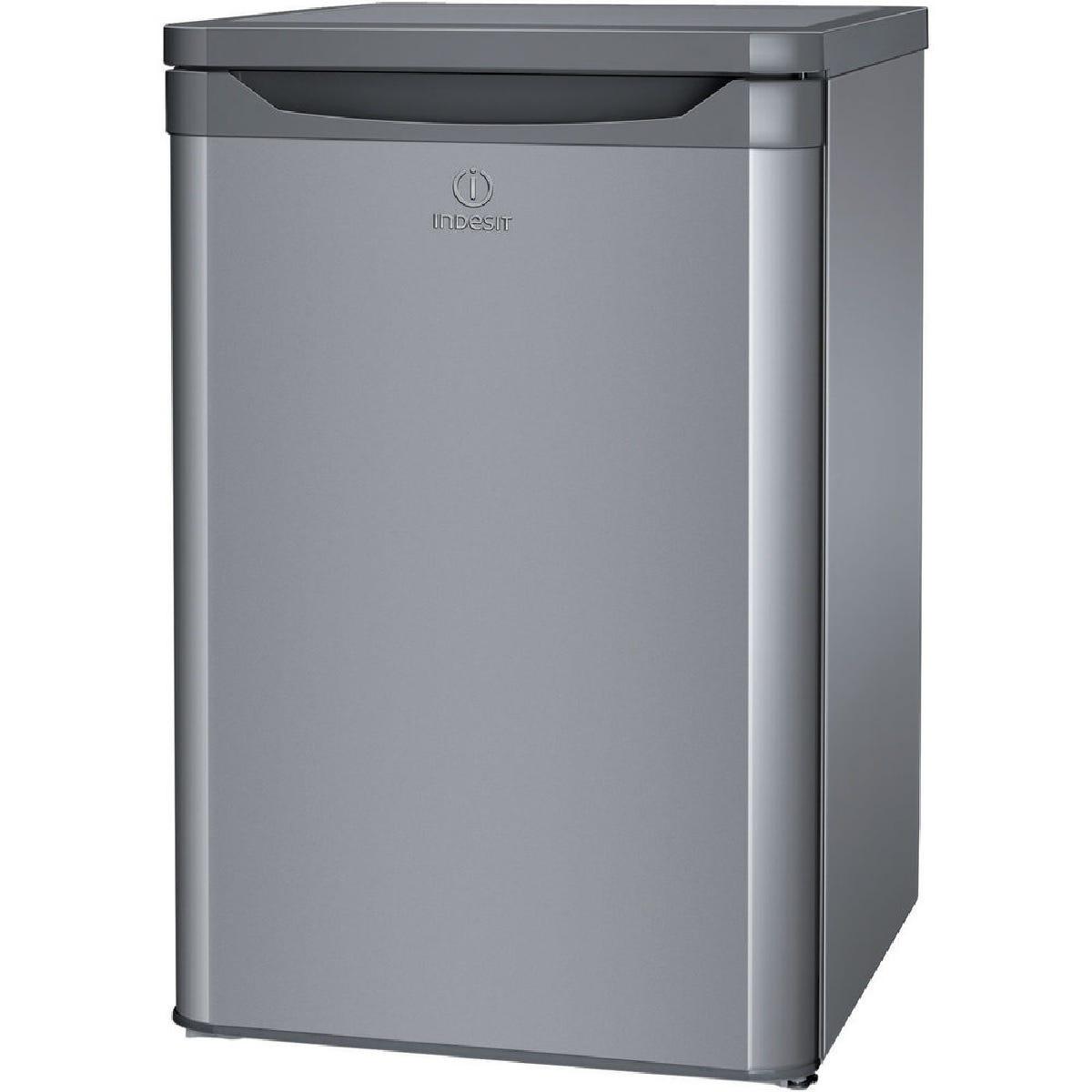 indesit tlaa 10 si.1 fridge - silver
