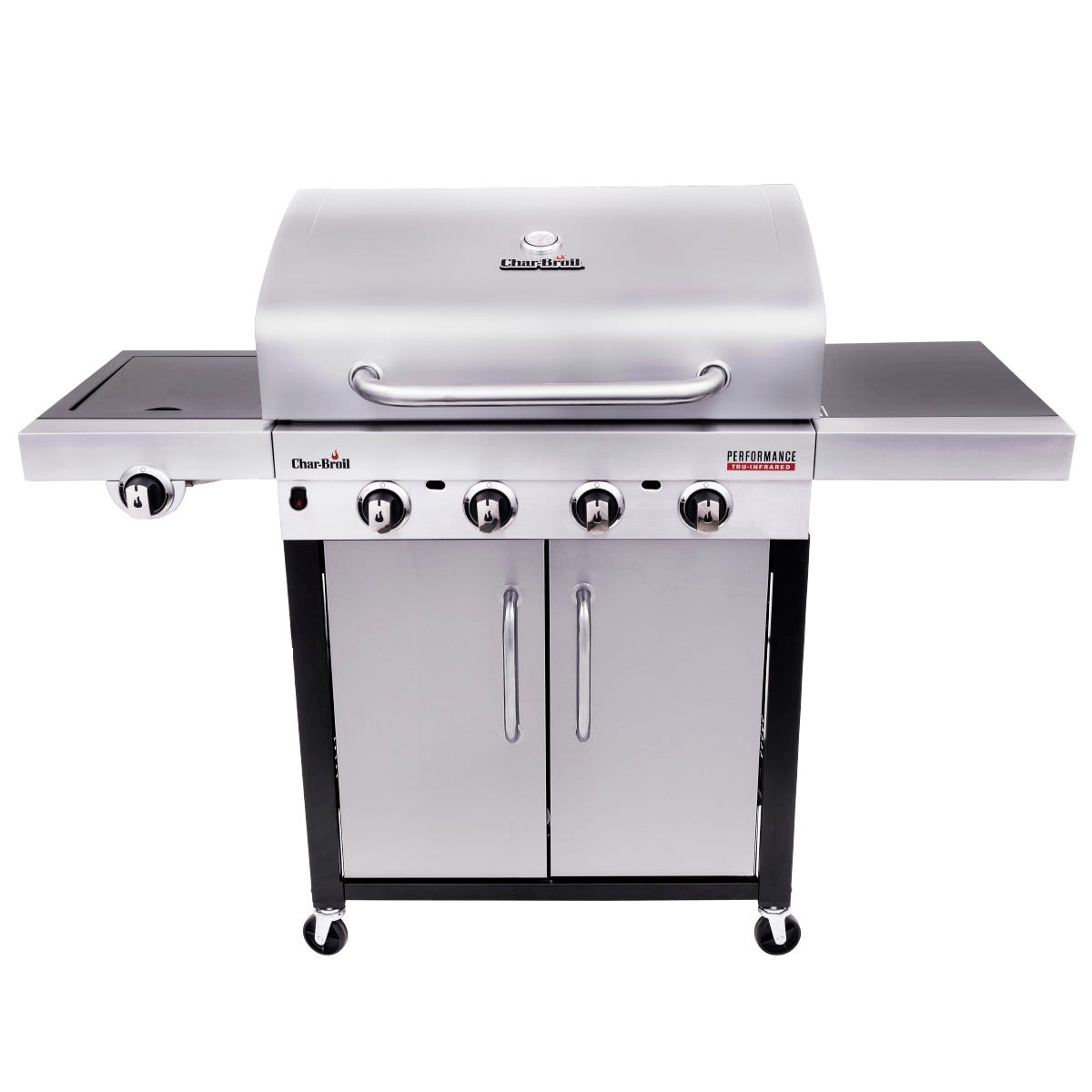 Image of Char-Broil Performance 440S 4 Burner Gas BBQ - Stainless Steel
