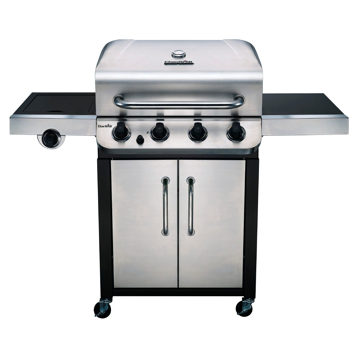 Image of Char-Broil Convective 440S Gas BBQ - Stainless Steel