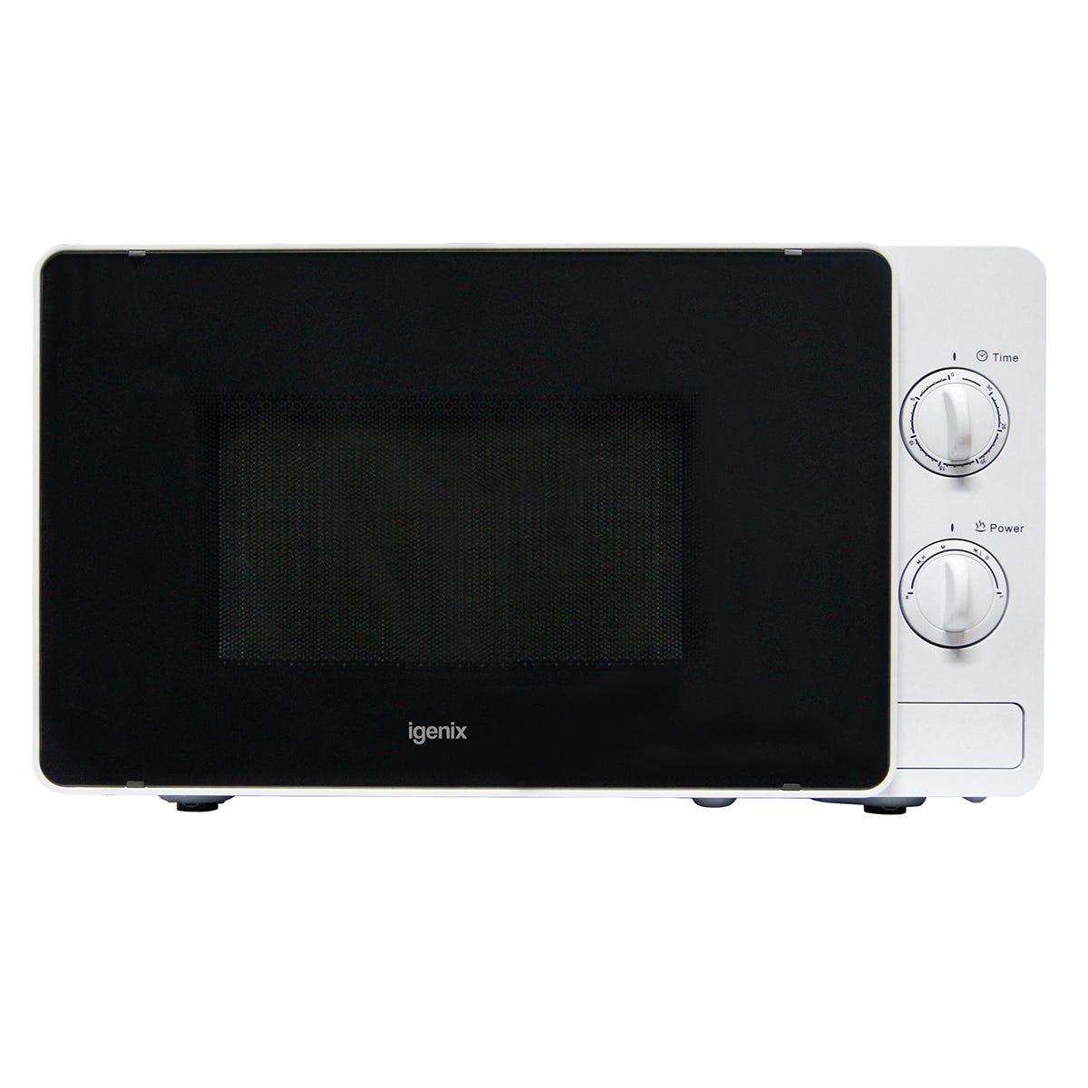 Igenix IG2081 20L 800W Manual Microwave - White