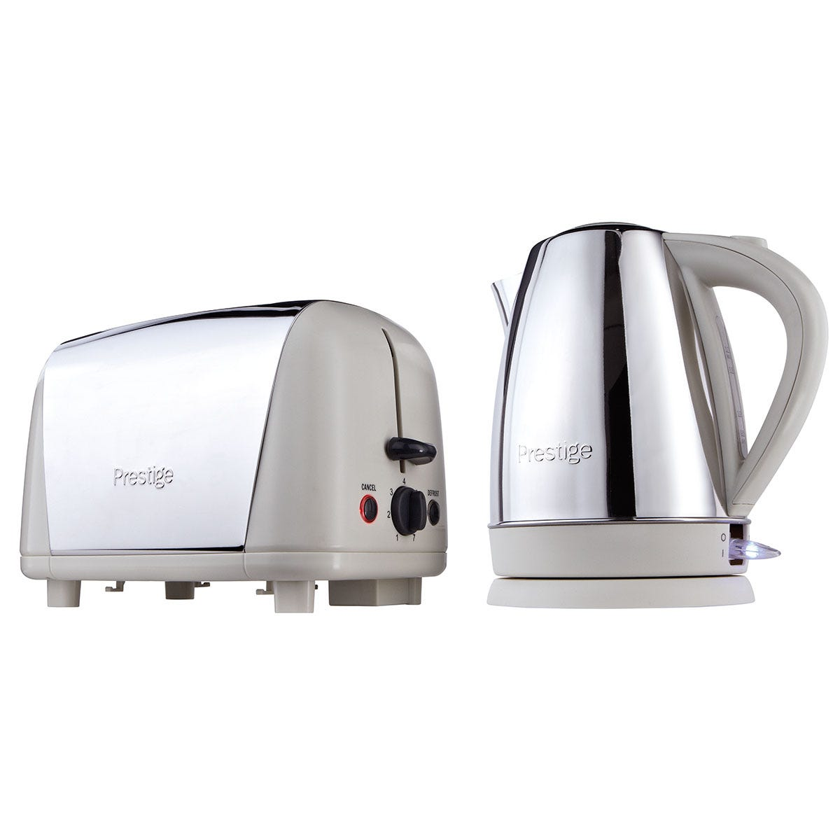 Prestige 53233 Breakfast Kettle and Toaster Set - Almond