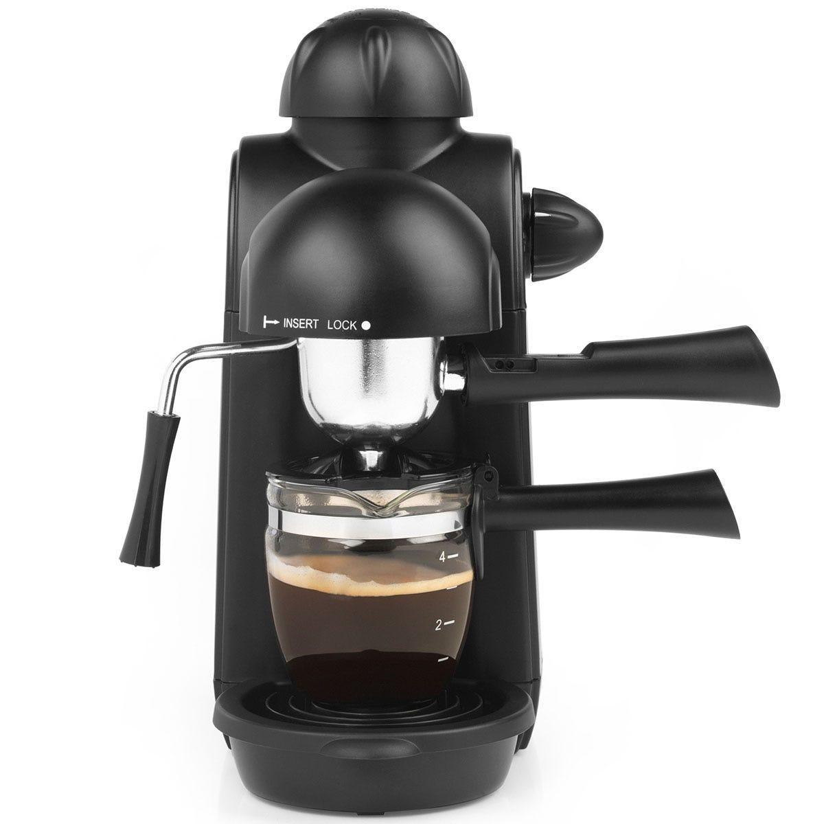 Salter EK3131 Espressimo Barista Style Coffee Machine - Black