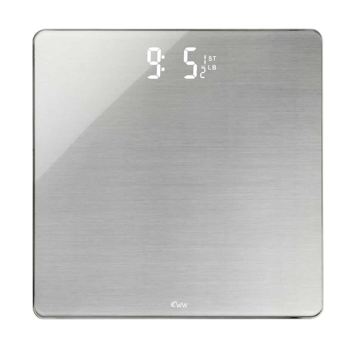 Weight Watchers Hidden LED Polished Glass Scale