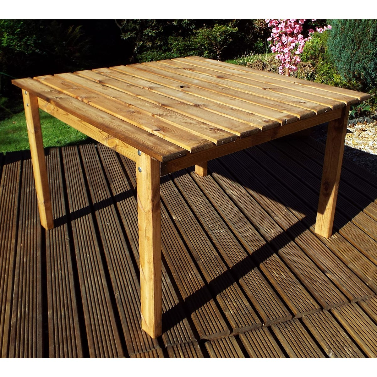 Charles Taylor 8 Seater Square Wooden Dining Table