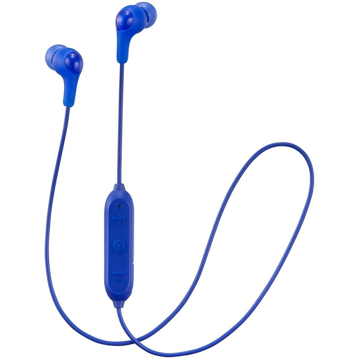 JVC Gumy Wireless Bluetooth In Ear Headphones - Blue