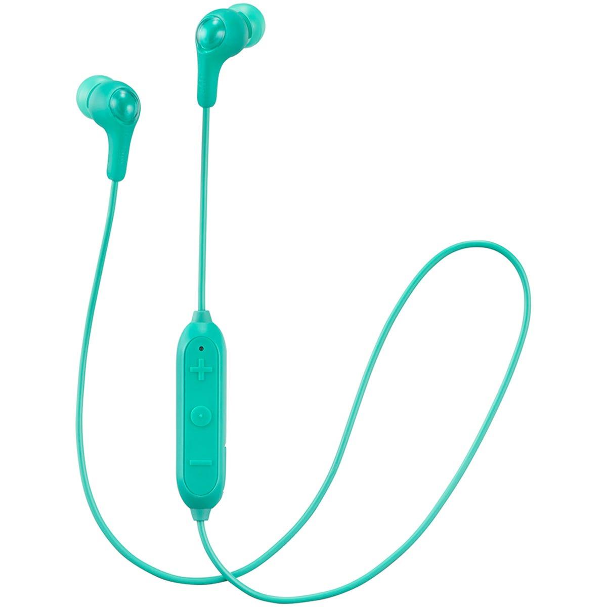 JVC Gumy Wireless Bluetooth In Ear Headphones - Green
