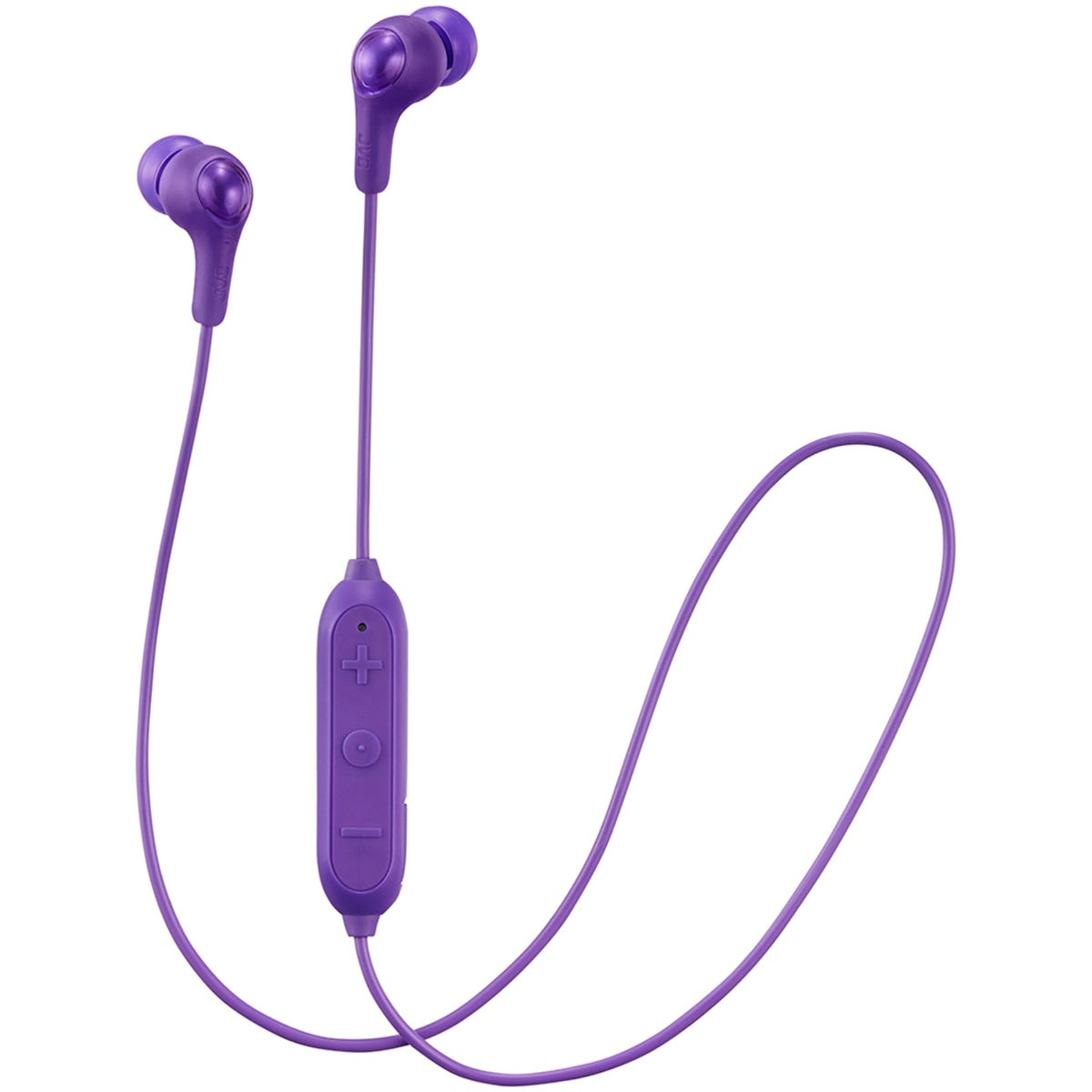 JVC Gumy Wireless Bluetooth In Ear Headphones - Violet