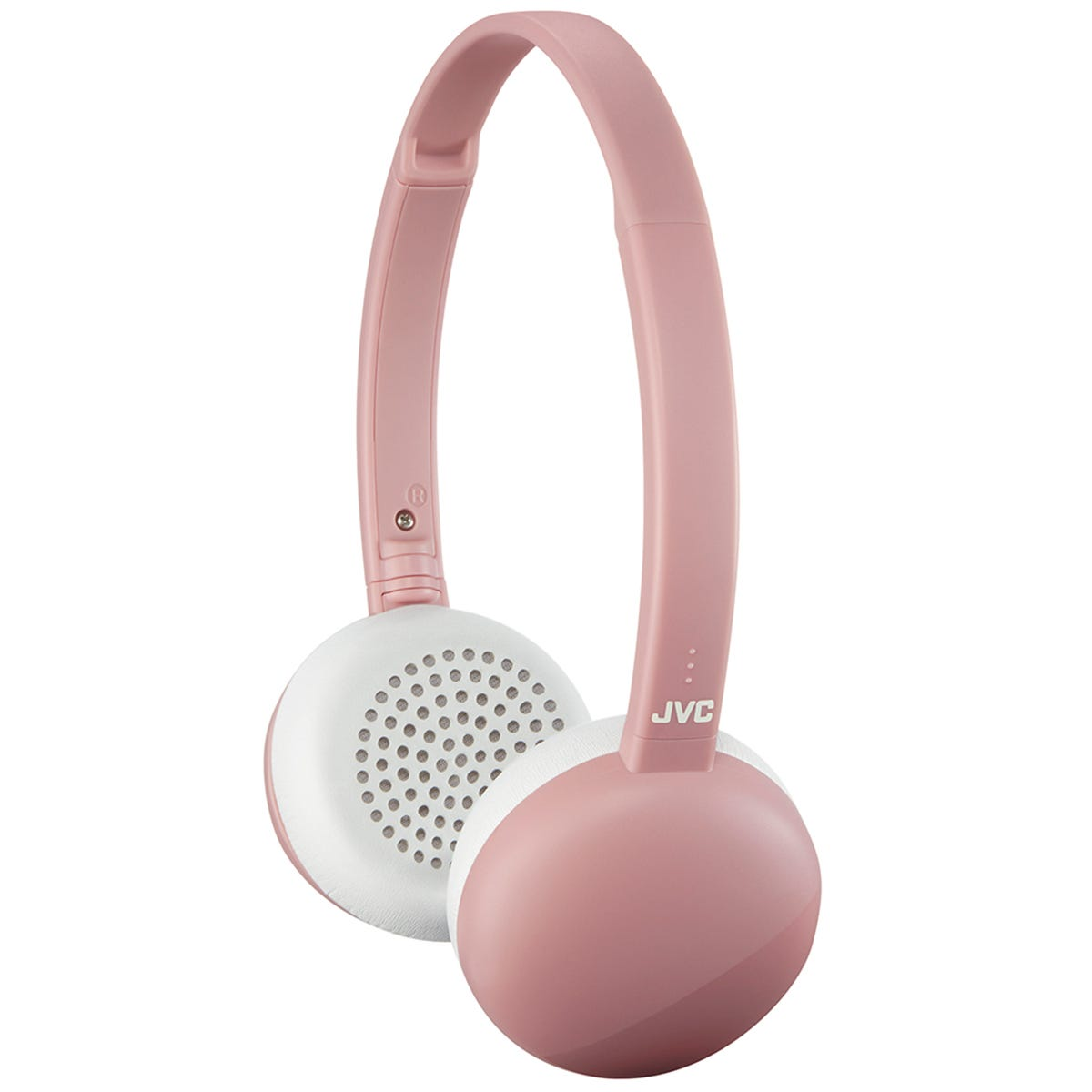 JVC Flats Wireless Bluetooth Headphones - Pink