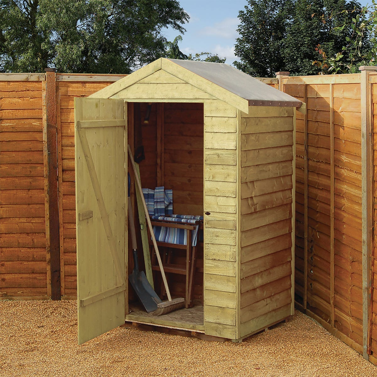 Rowlinson Overlap 4 x 3 Shed