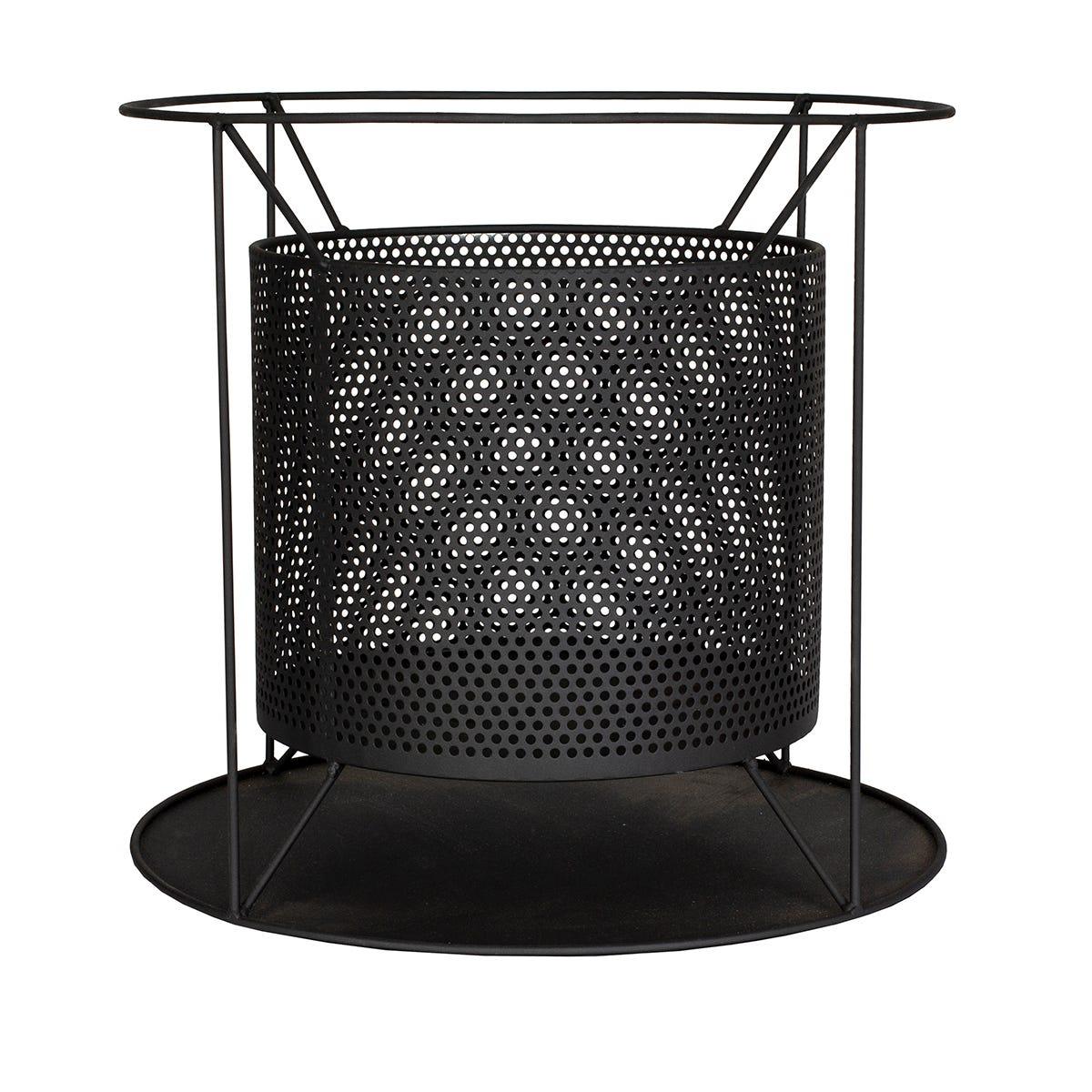 La Hacienda Kora Round Mesh Suspended Fire Basket