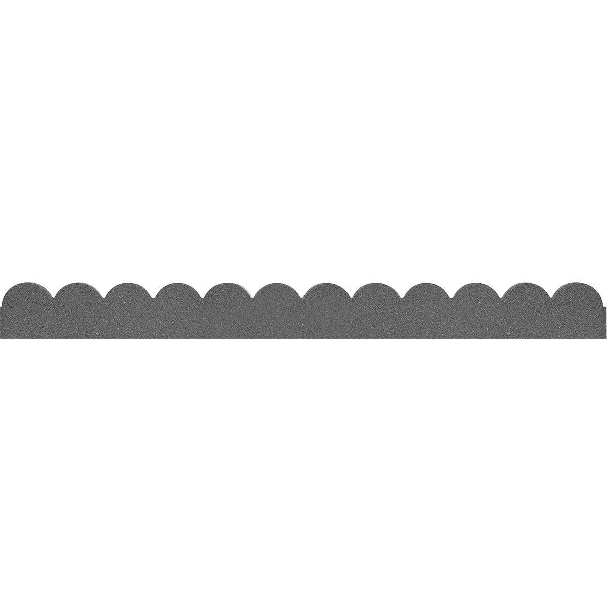 Robert Dyas Ez Border Flexi Curve Scallop Border - Grey