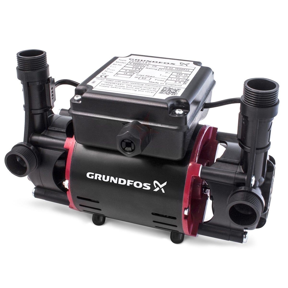Grundfos STR2 2.0C Twin Impeller Shower Pump