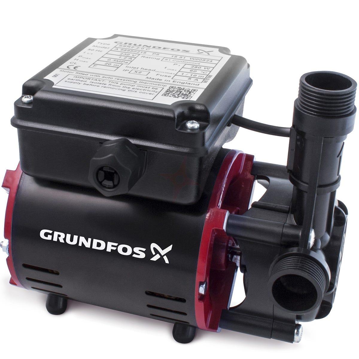Grundfos SSR2 2.0C Sngl Impeller Shower Pump