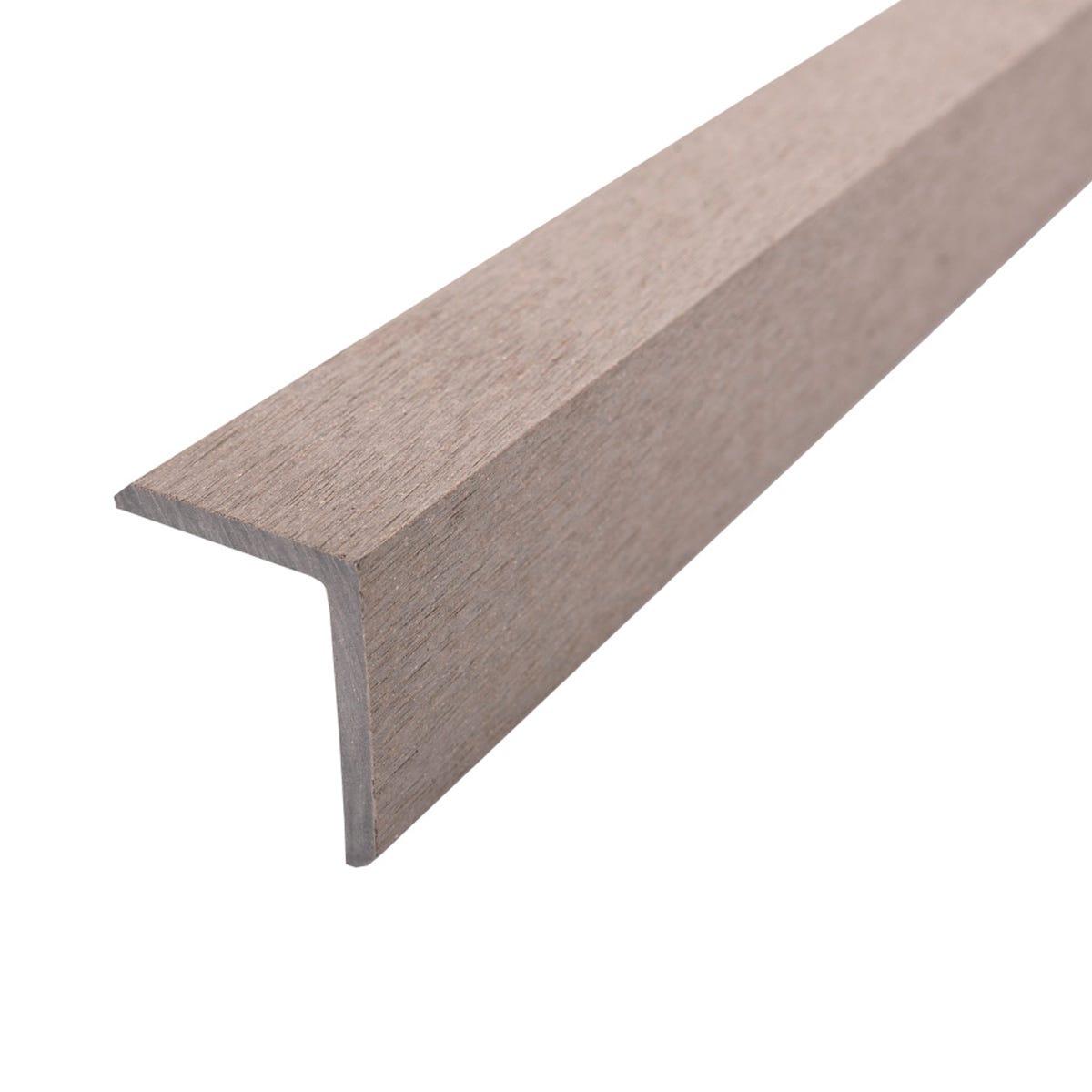 Select Composite Decking 1.8m Corner Trim Pk 5 - Antique