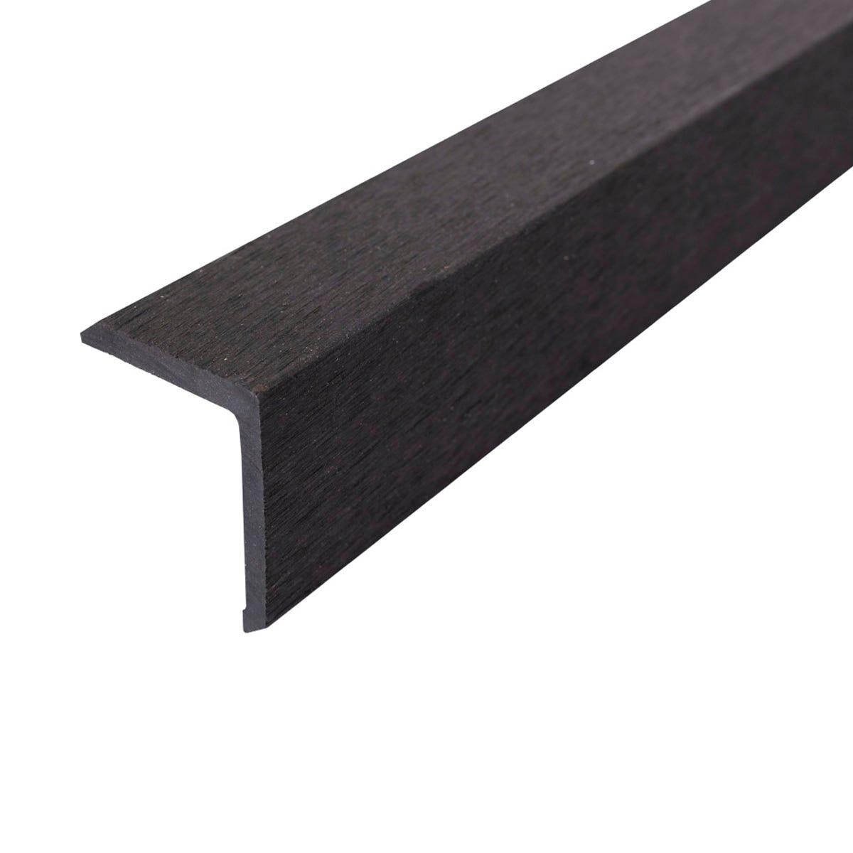 Select Composite Decking 1.8m Corner Trim Pk 5 - Dark Grey