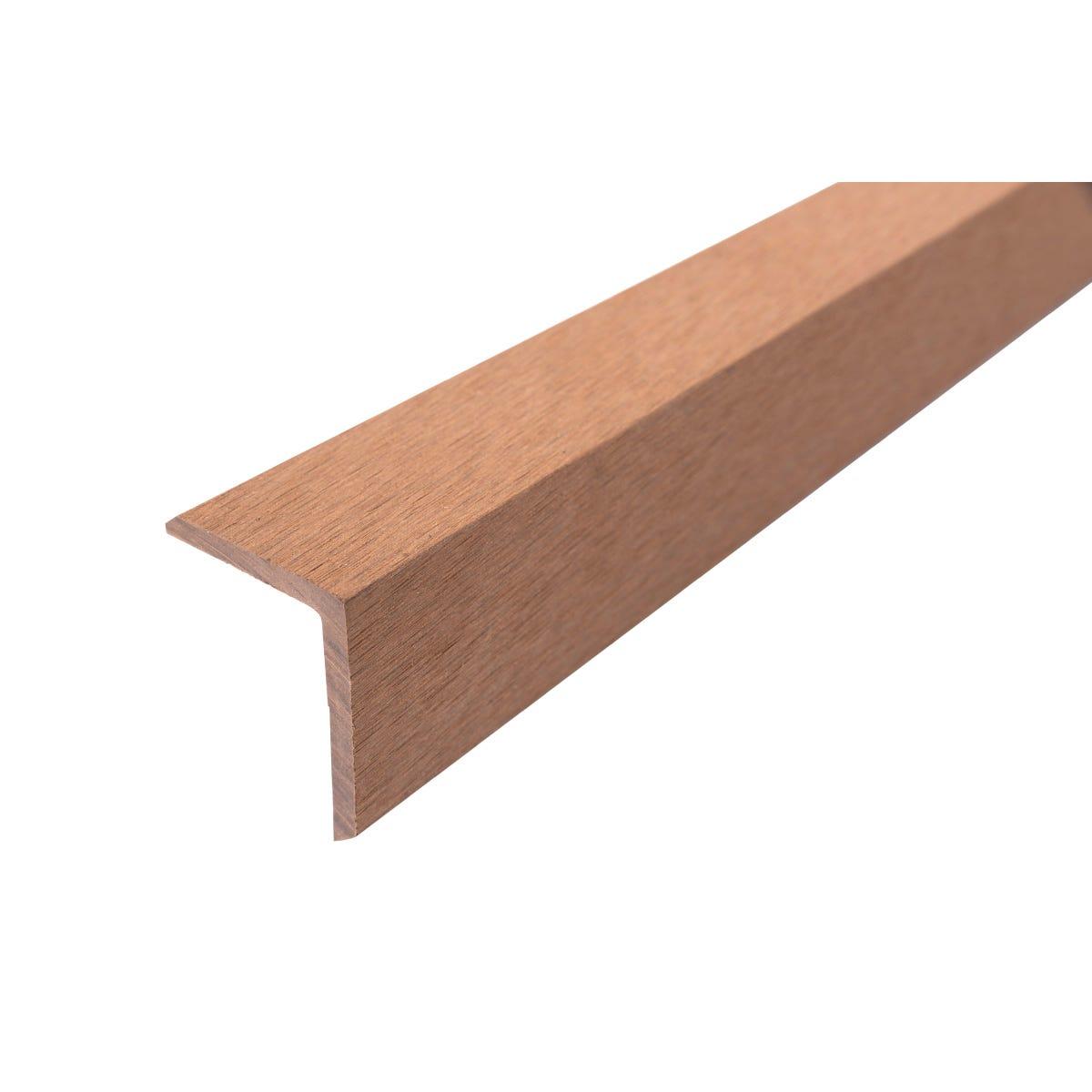 Select Composite Decking 1.8m Corner Trim 5pcs- Teak