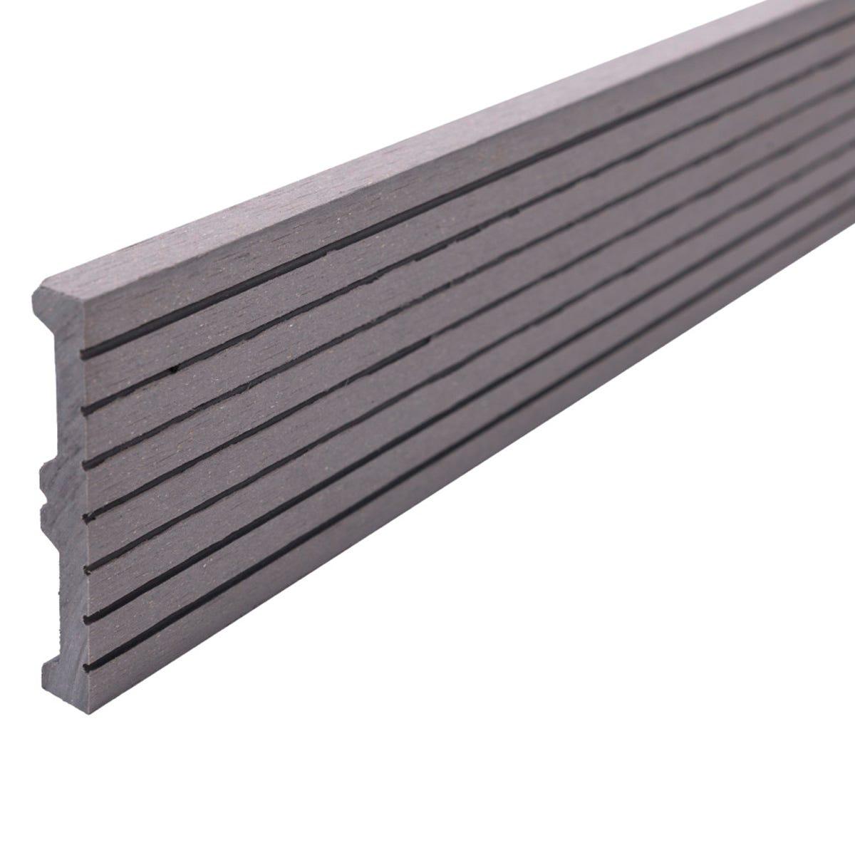 Select Composite Decking 3.6m Skirting Trim - Light Grey