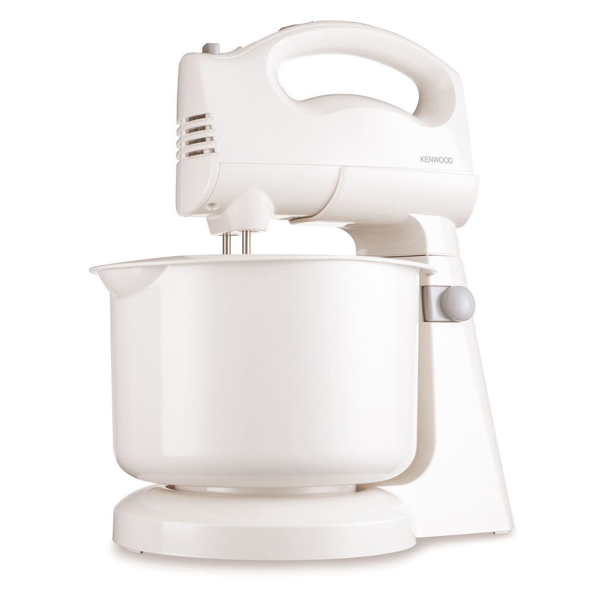 Kenwood HM400 180W Five-Speed Stand Mixer with 1.5L Automatic Rotating Bowl - White