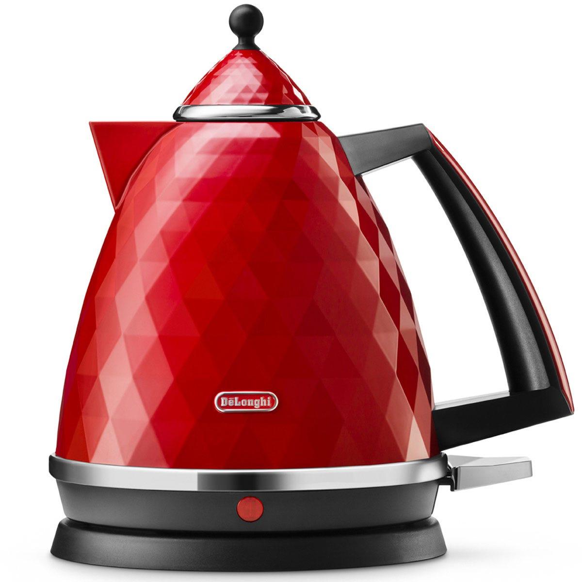 De'Longhi DeLonghi KBJ3001R Brilliante 1.7L 2000W Kettle - Red