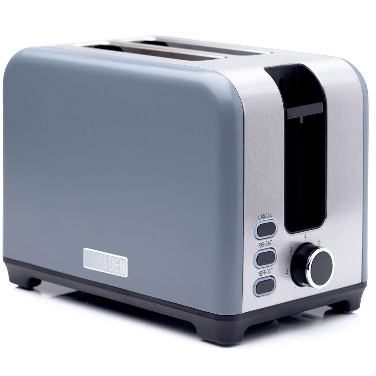 Haden 192929 Hove 2-Slice Toaster- Slate Grey