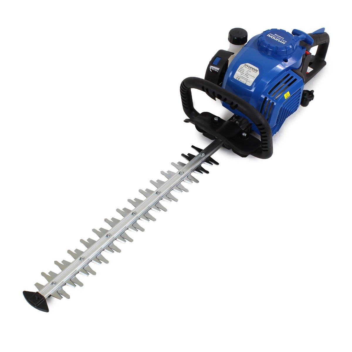 Hyundai HY4HT26 26cc 4-Stroke Petrol Hedge Trimmer/Cutter 51cm / 20inch Cutting Length