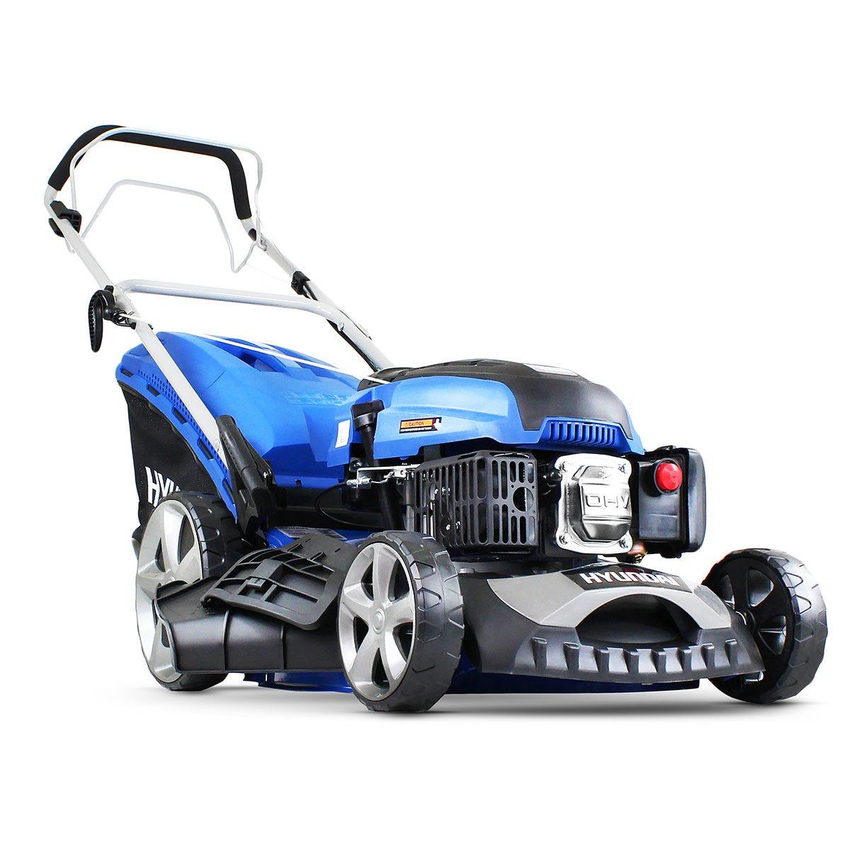 HYUNDAI HYM460SP Cordless Rotary Lawn Mower - Blue, Blue