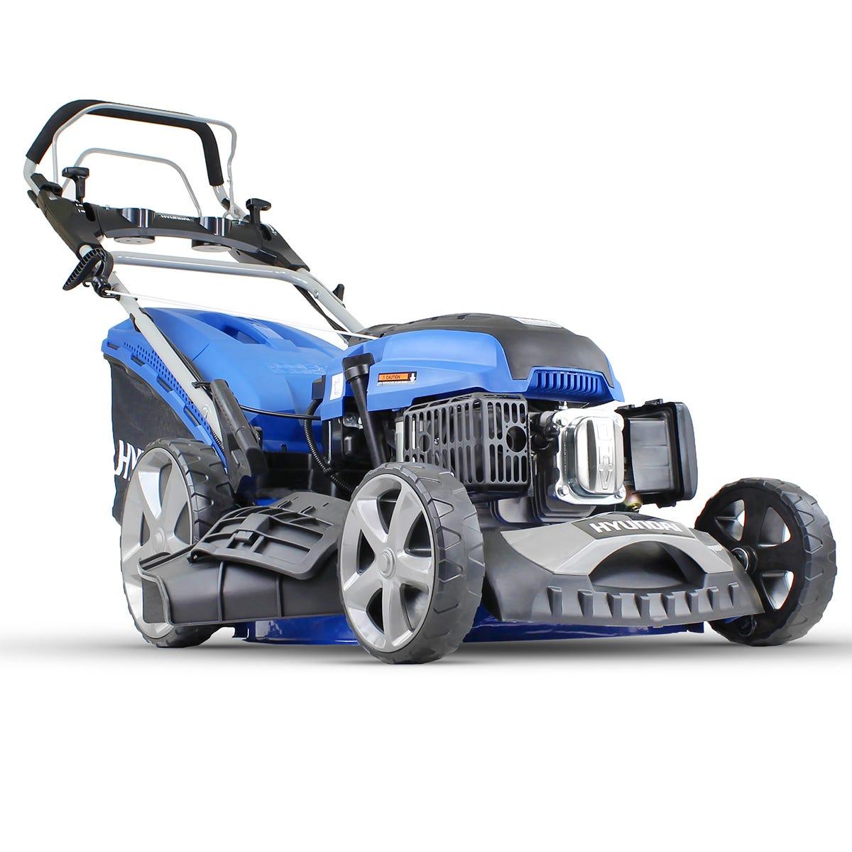Image of Hyundai HYM510SPE 173 cc Self Propelled Electric Push Button Start Petrol Lawnmower