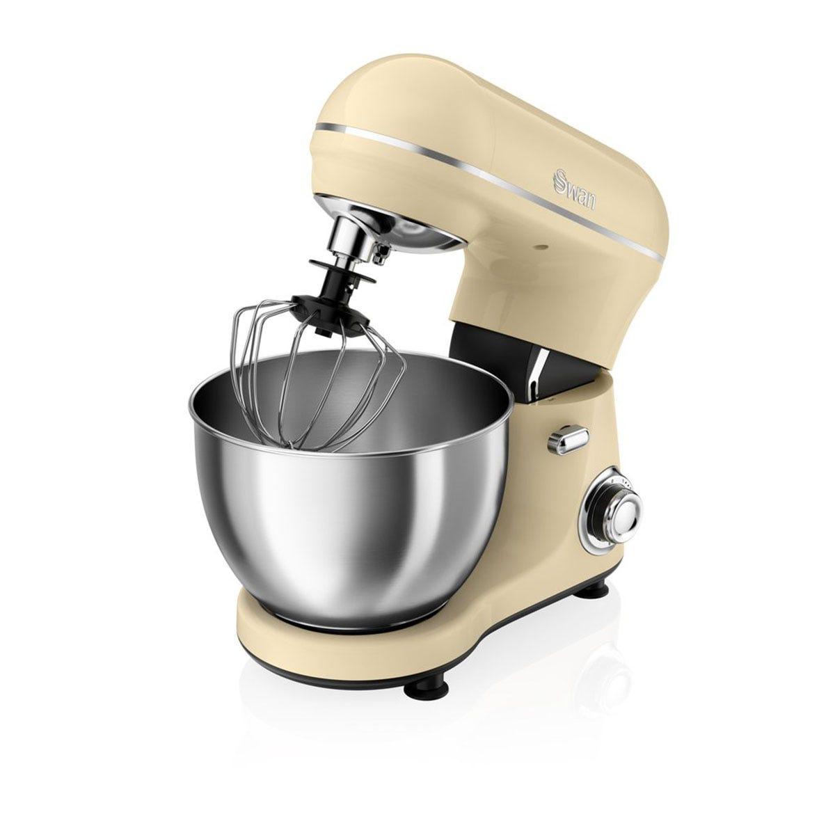 Swan SP21060CN Retro Stand Mixer - Cream