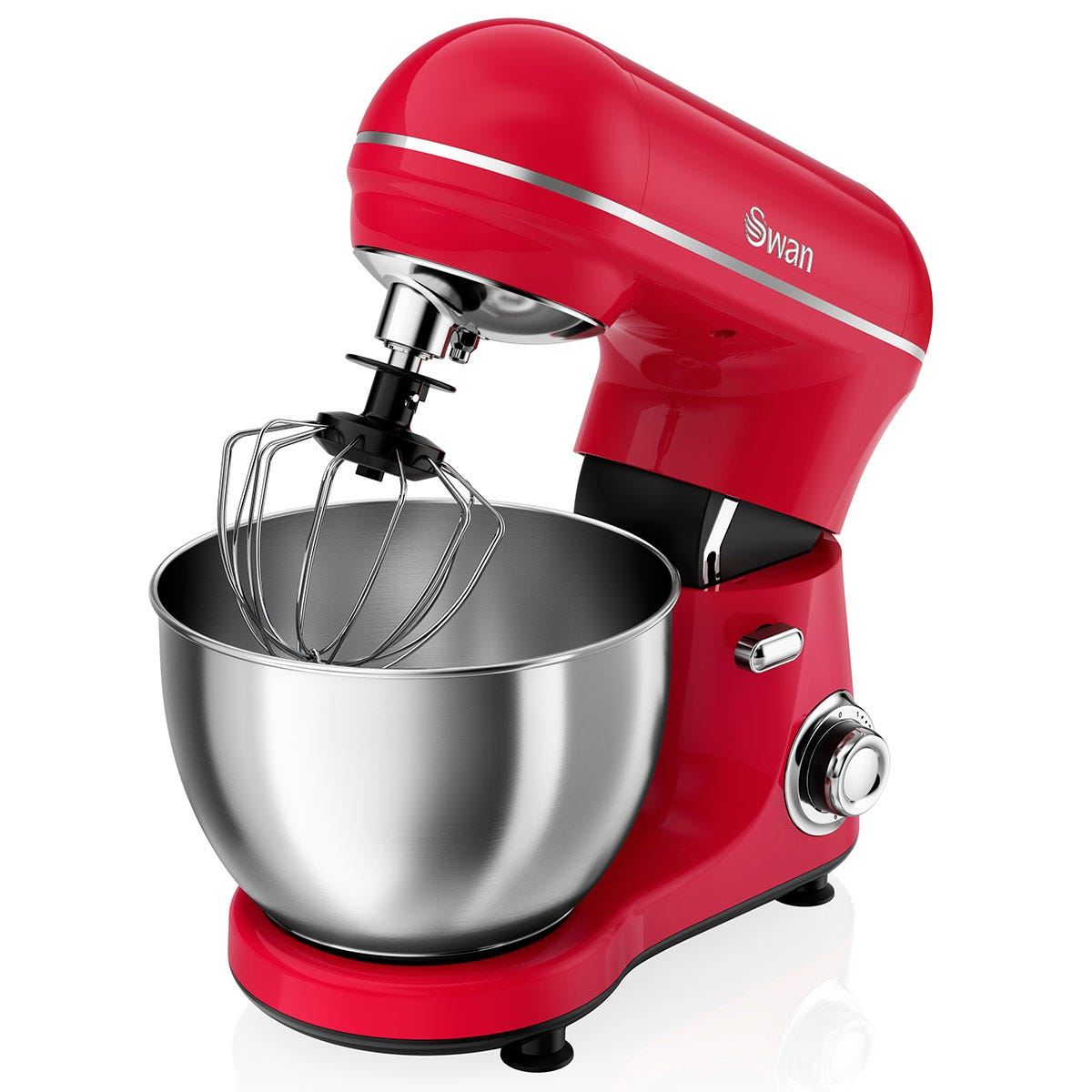 Swan SP21060RN Retro Stand Mixer - Red