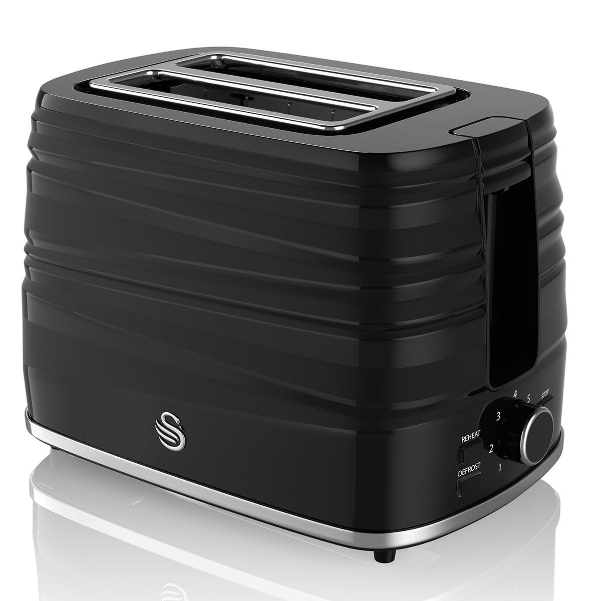 Swan ST31050BN 2-Slice Toaster - Black