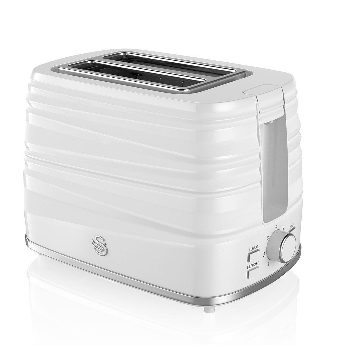 Swan ST31050WN Symphony 2 Slice Toaster - White
